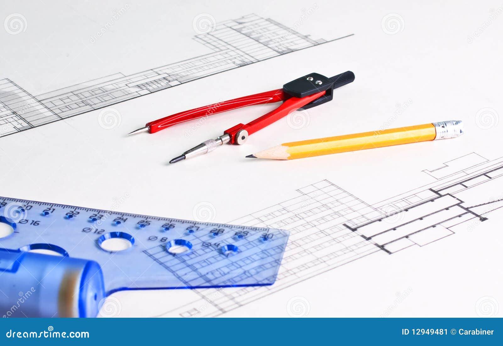 Architektoniczny rysunek