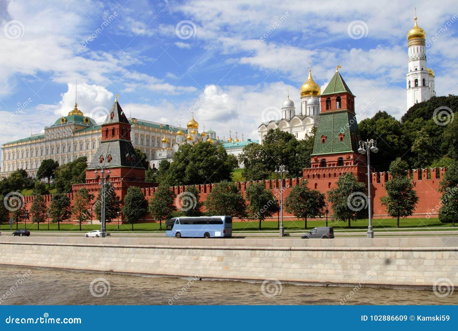 Architektoniczny zespół Moskwa Kremlin
