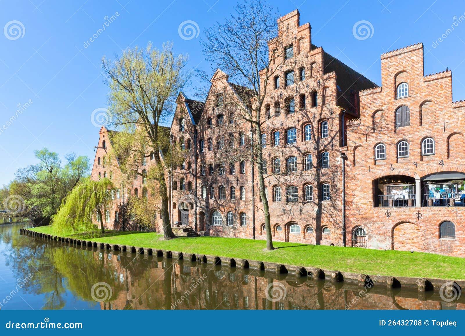 Architektur Lübeck architektur in lübeck deutschland stockfoto bild giebel