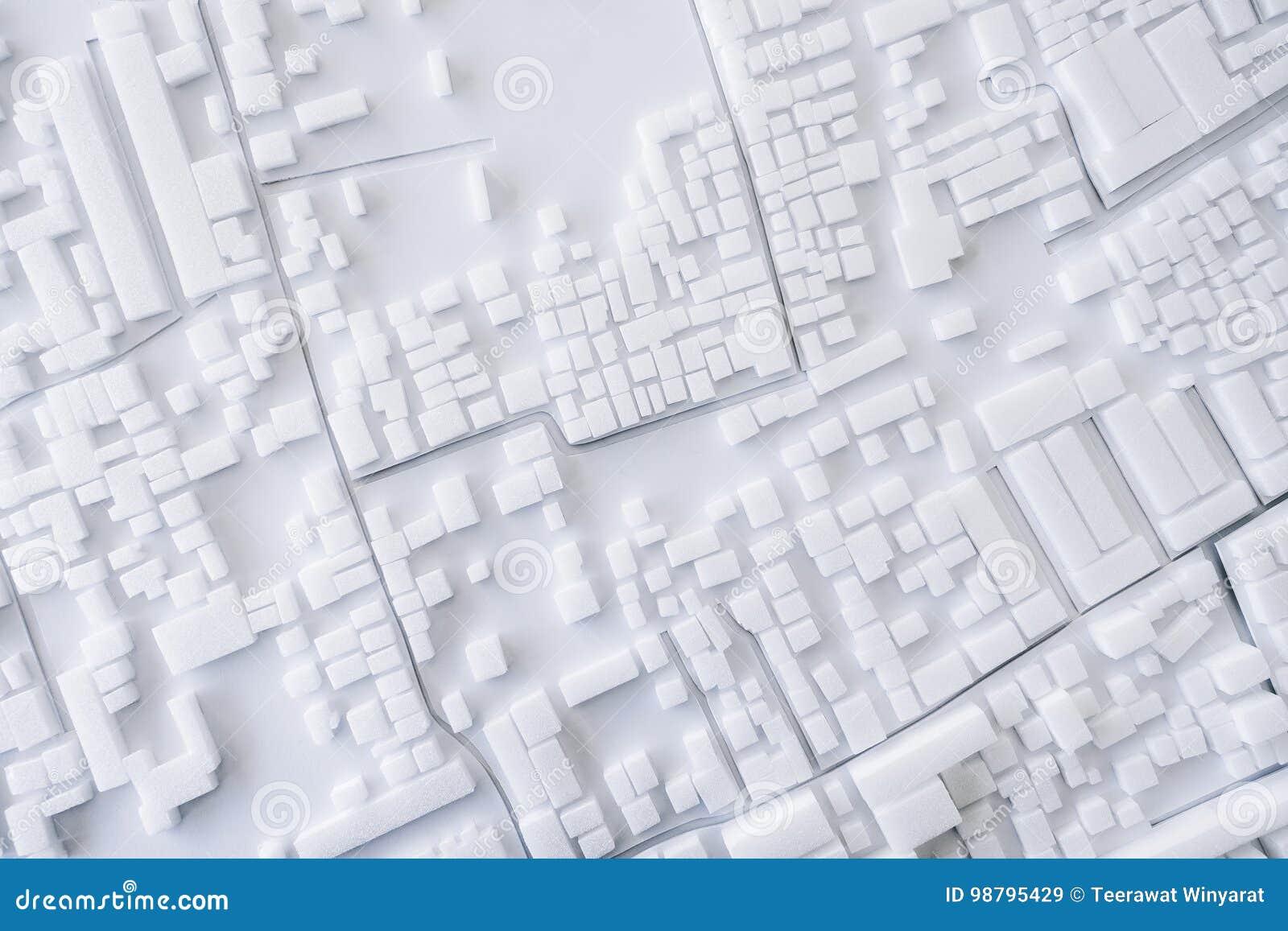 Architektur-vorbildliches Urban-Stadtbildkonzeptdesign