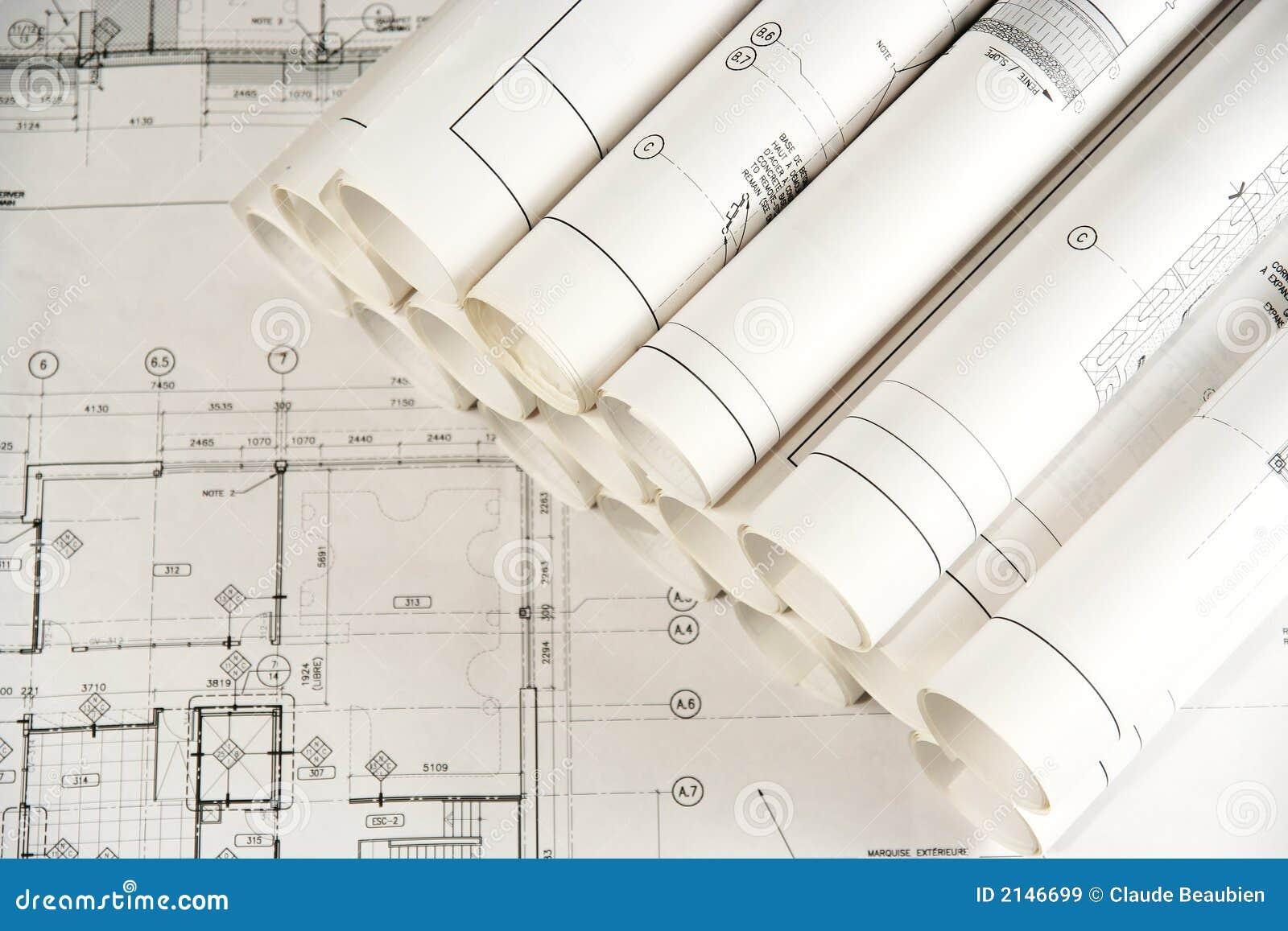 architektur zeichnungen 2 lizenzfreie stockbilder bild