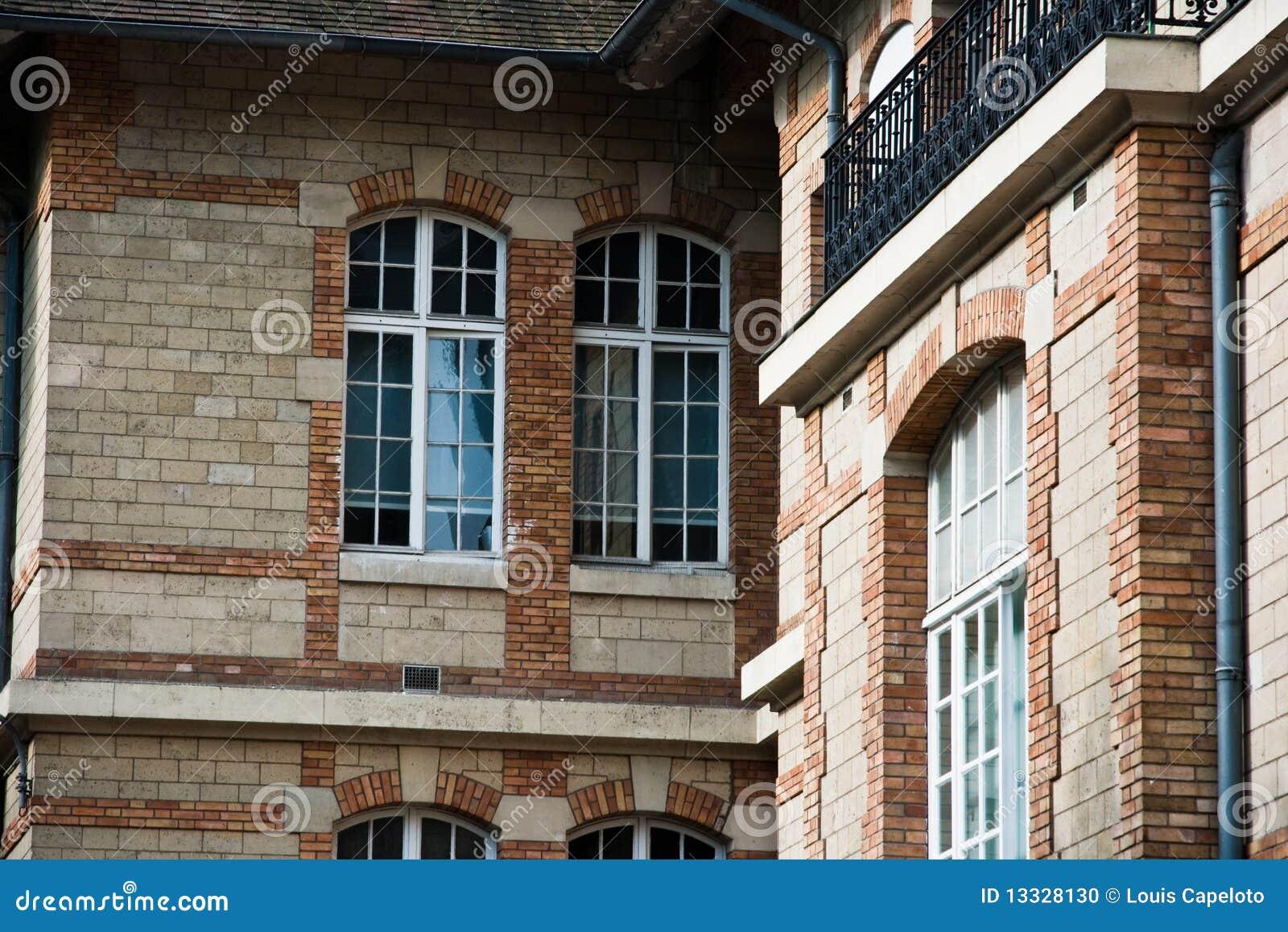 Architektura klasyczny francuski Paris