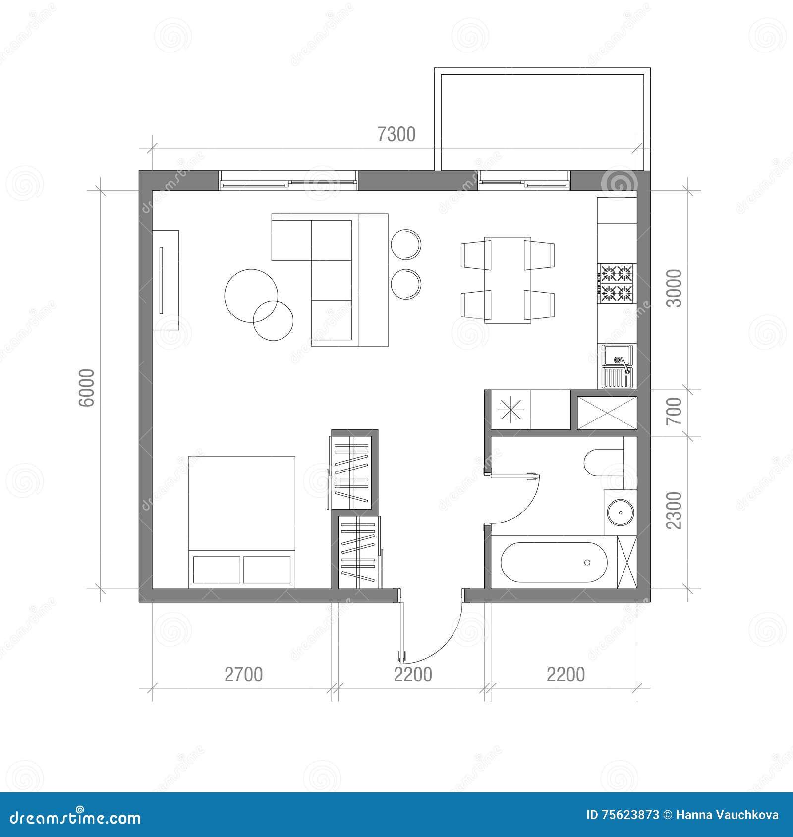 Fantastisch Küche Grundriss Layout Galerie - Ideen Für Die Küche ...