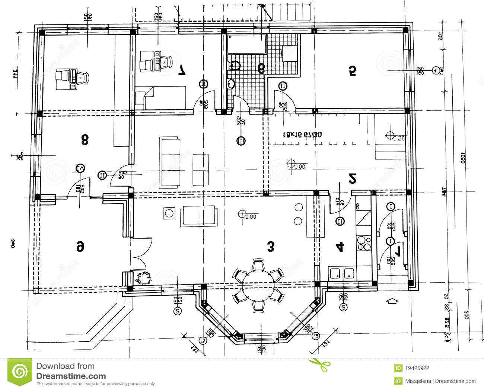 Architekturplan stockfotografie bild 19425922 - Architektur plan ...
