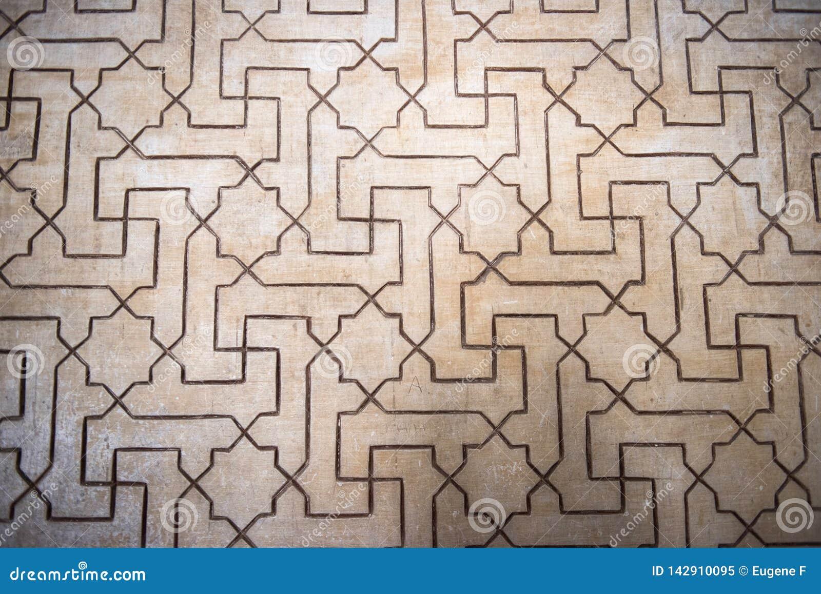 Architekturschönheit von Alhambra Palace