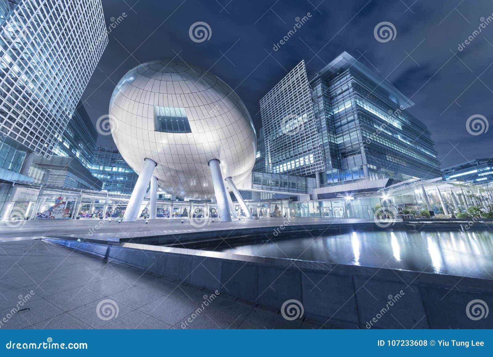 Architektury Hong kong nowożytny