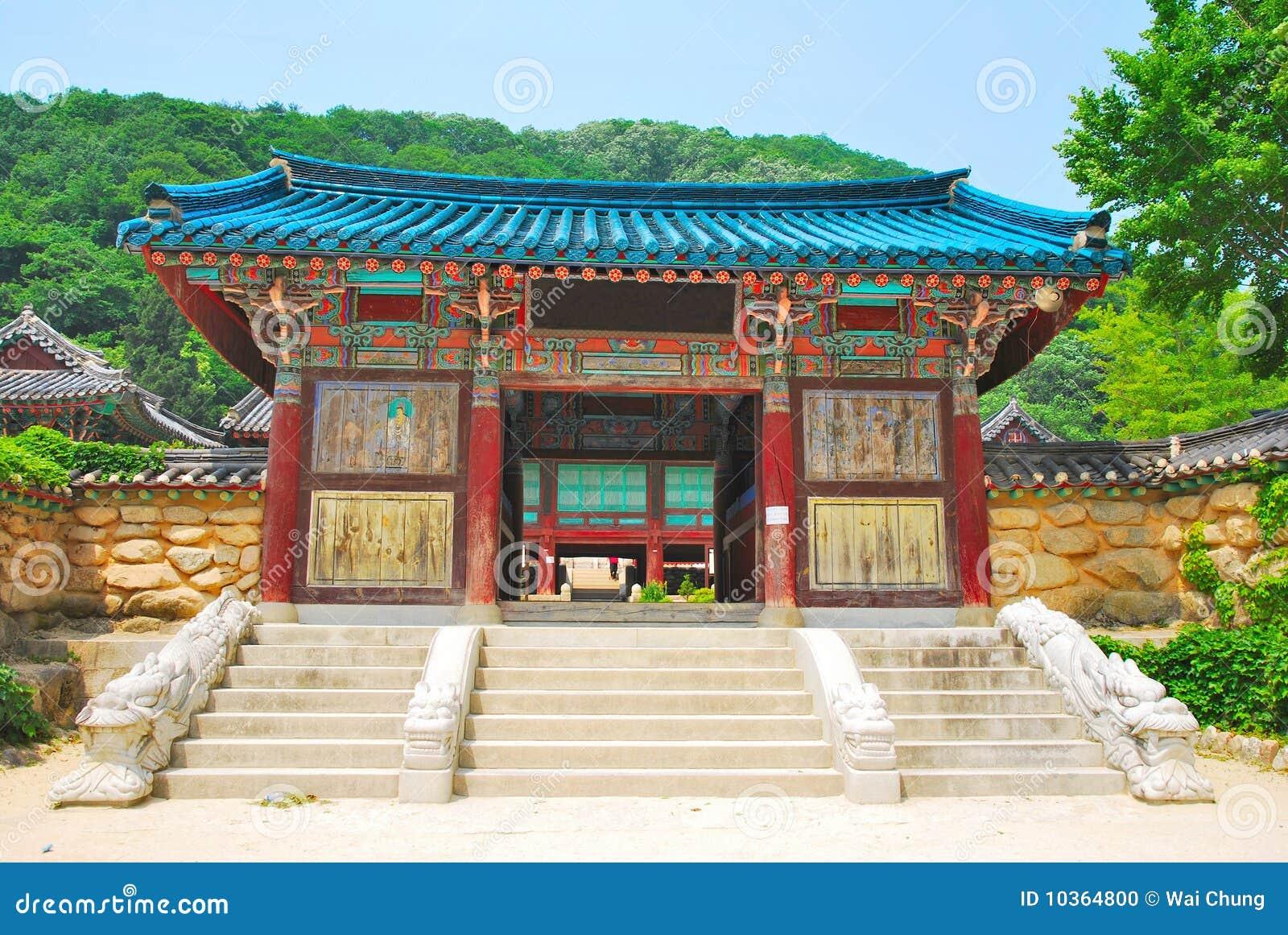 Architektury koreańczyka świątynia