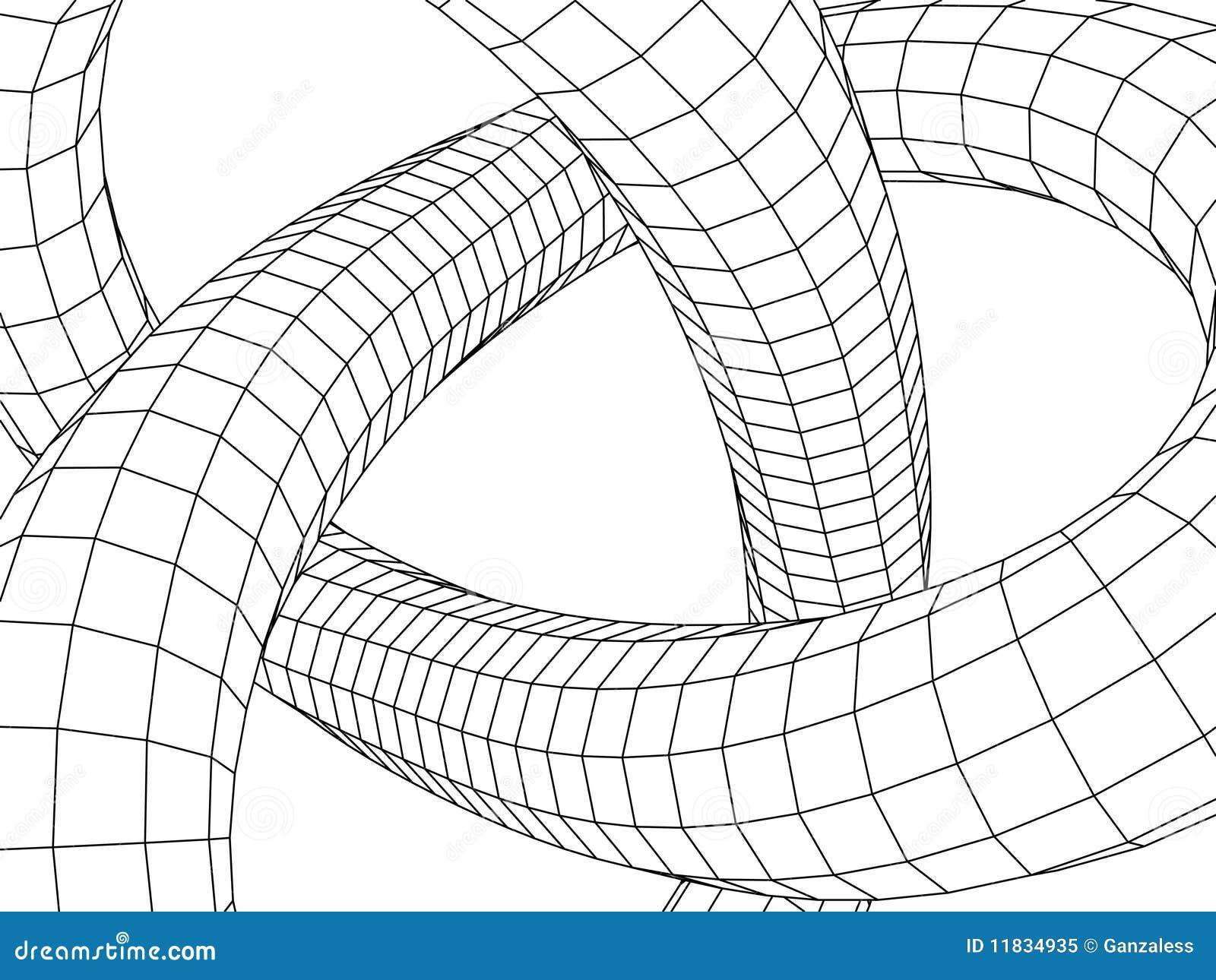 Architettura astratta illustrazione vettoriale for Programmi 3d architettura
