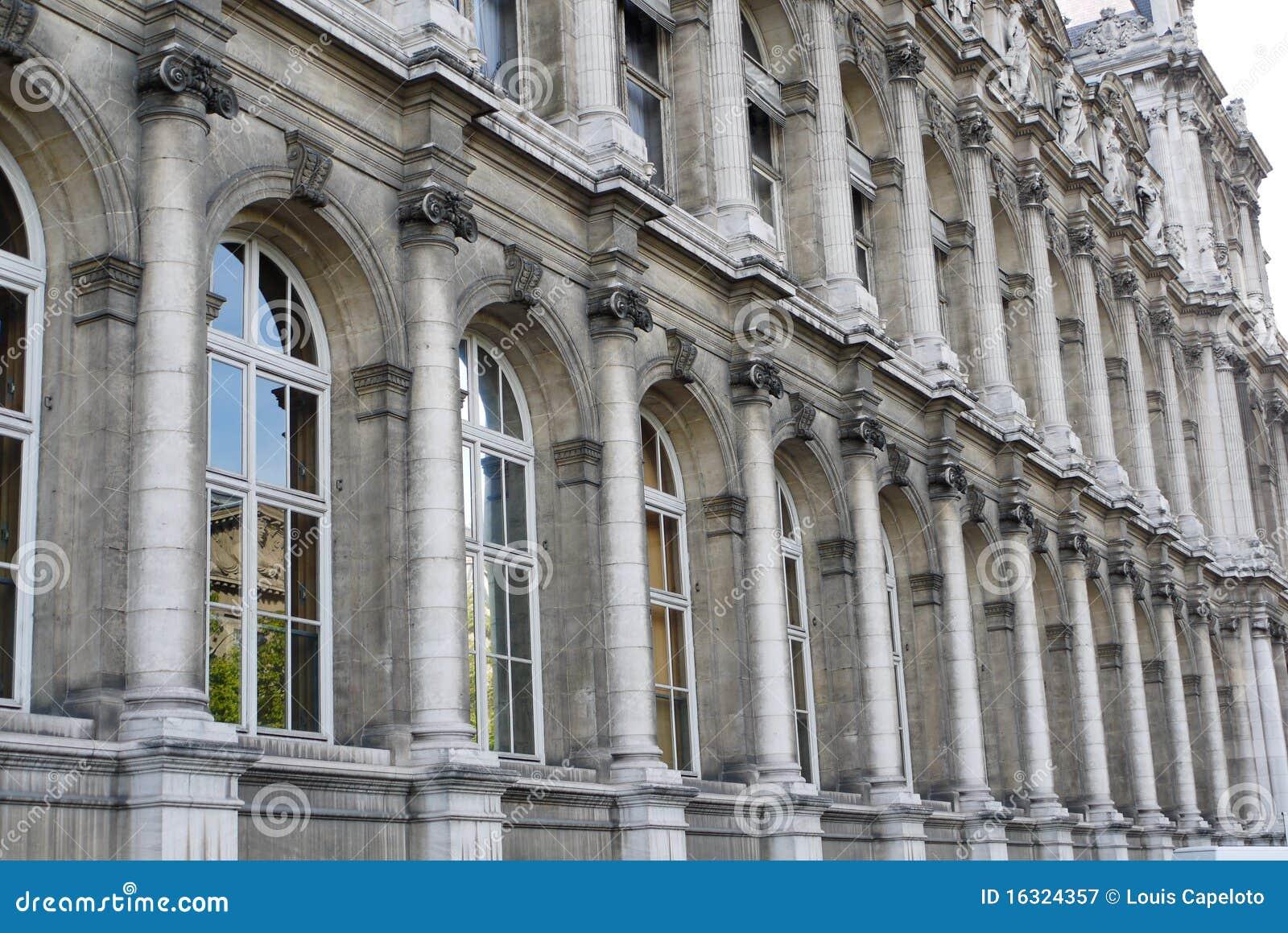 Architettura classica a parigi fotografia stock libera da for Architettura classica