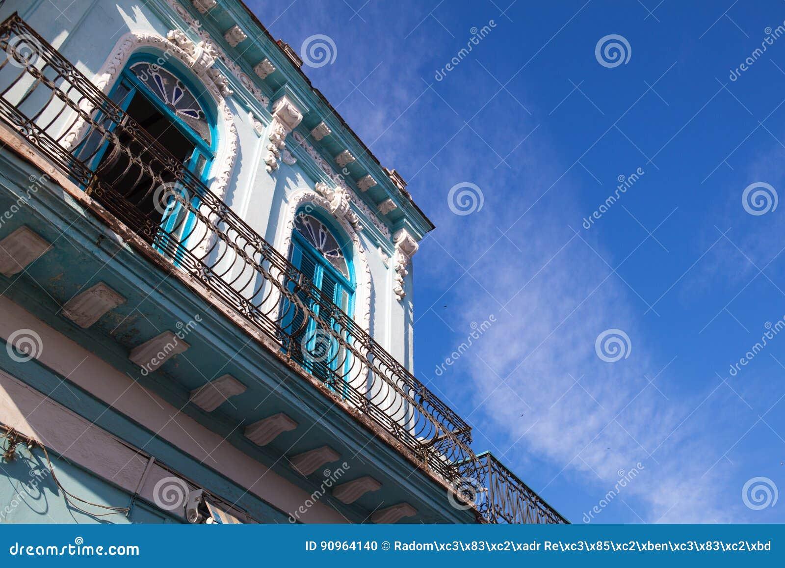 Architettura coloniale classica a Avana, Cuba