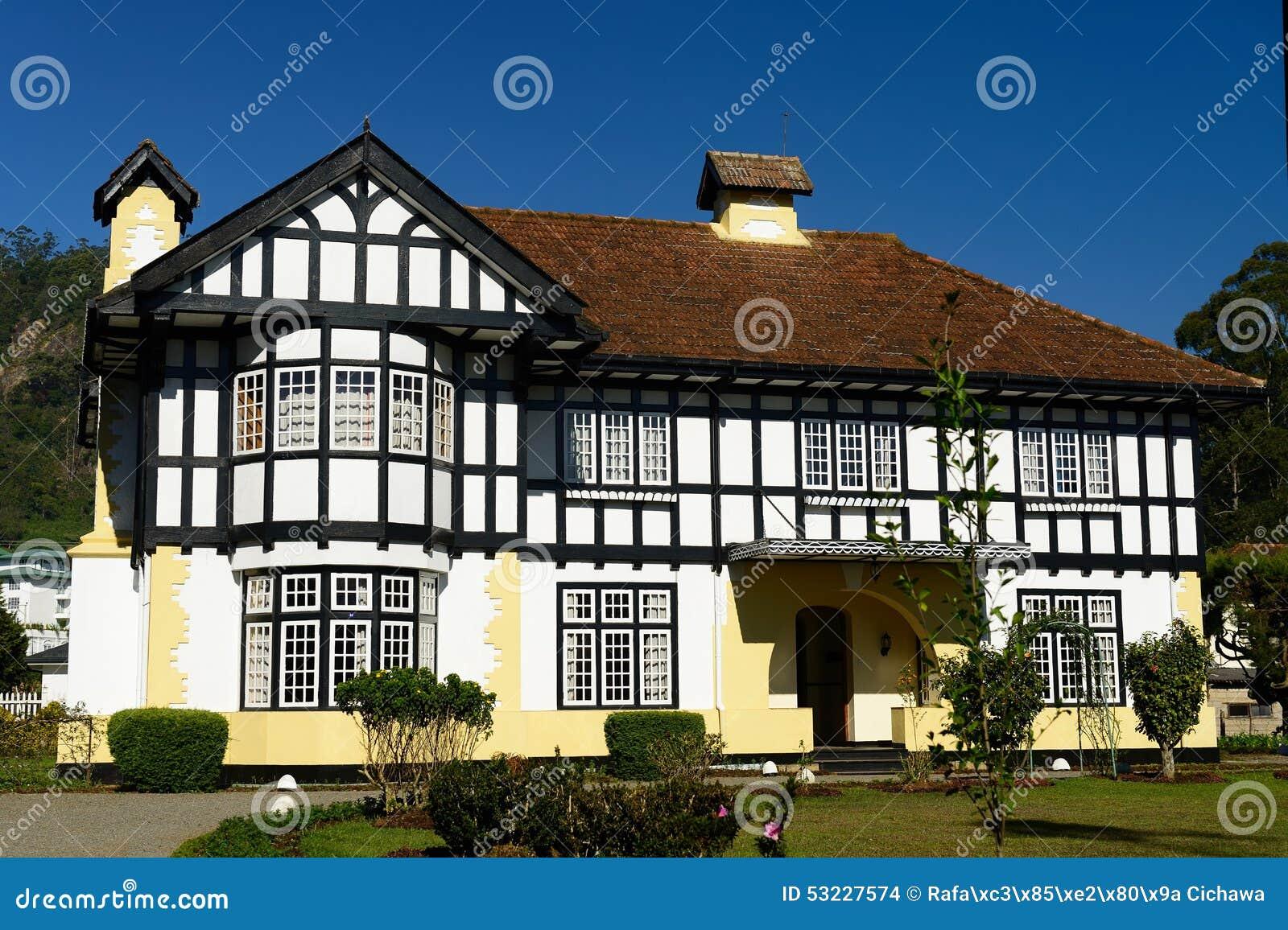 Architettura del coloniale dello sri lanka fotografia for Casa coloniale meridionale