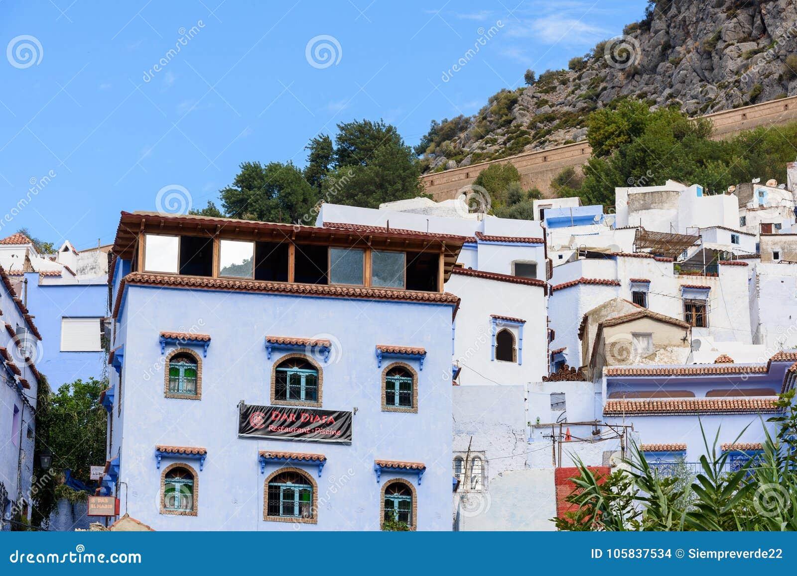 Architettura di Chefchaouen, Marocco