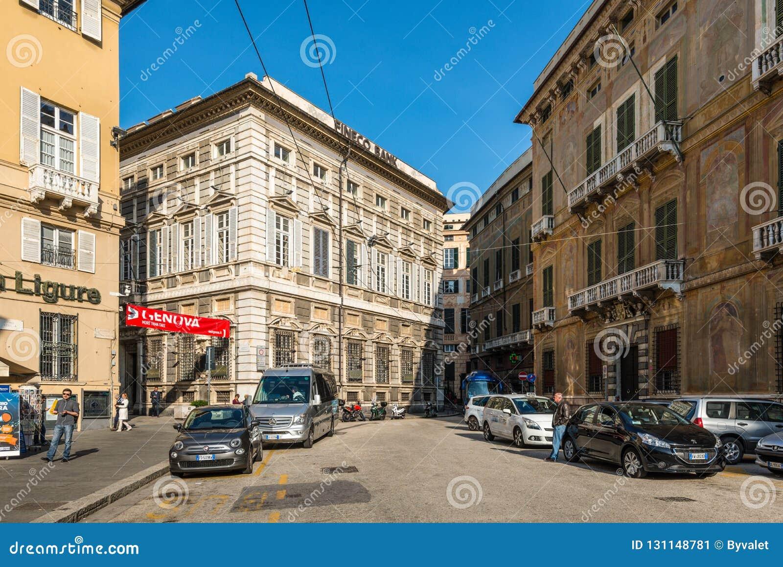 Architettura di Genova, Ligury, Italia