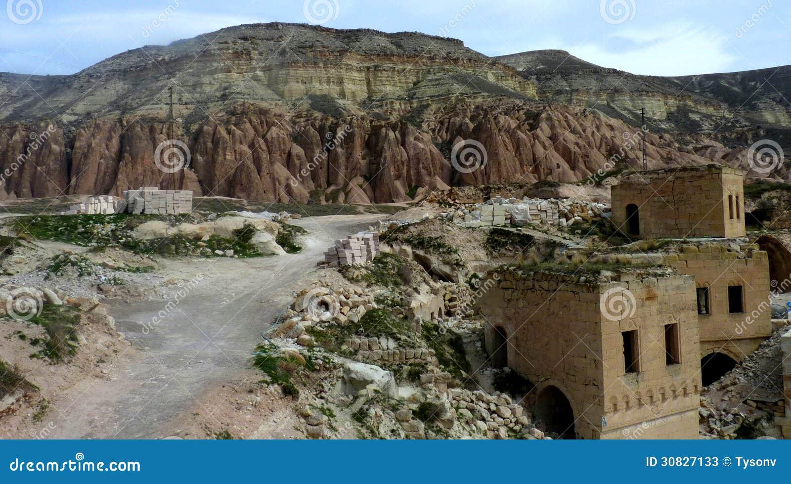 Architettura di Kapadokya Capadoccia