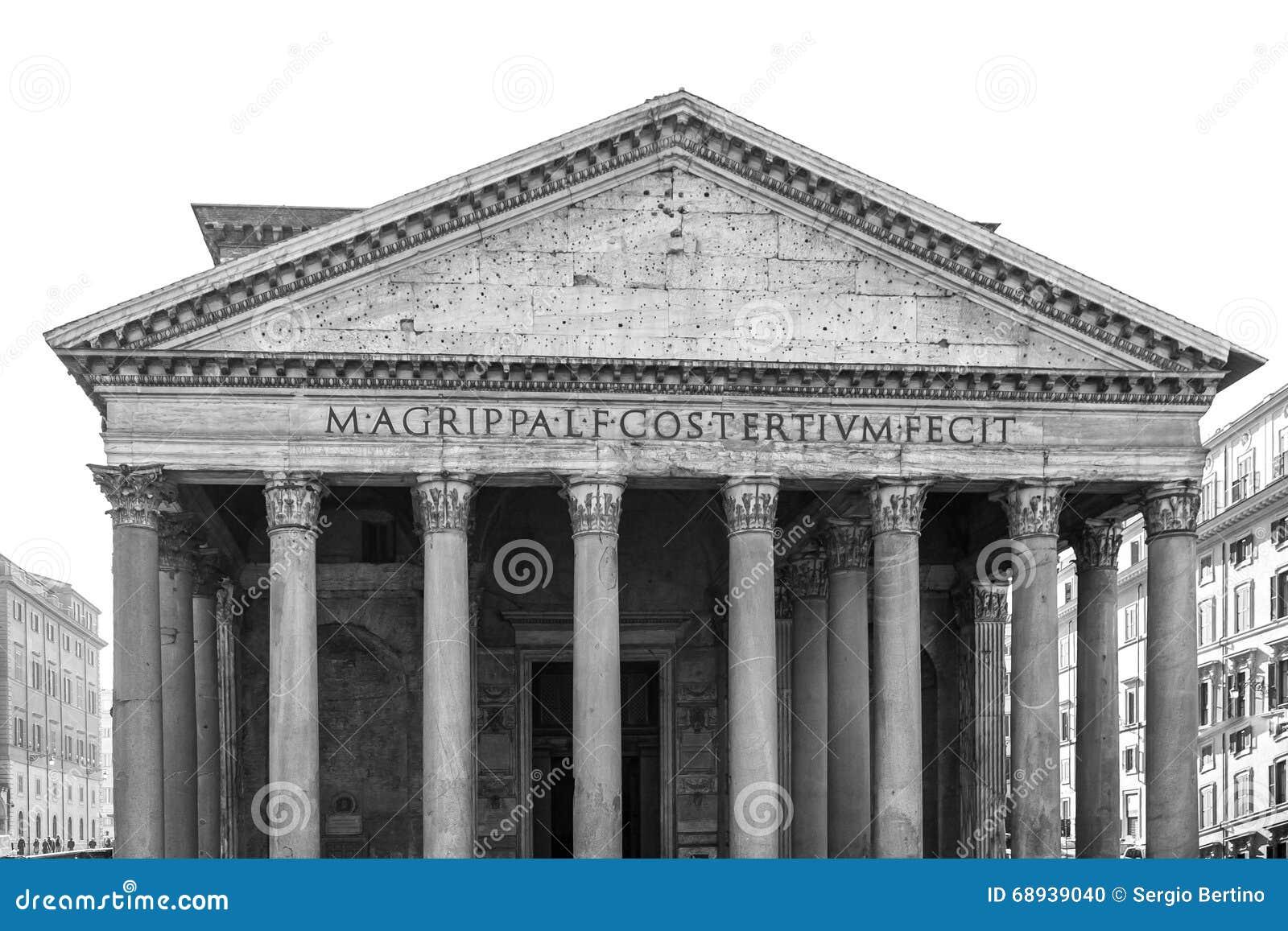 Architettura di roma italia in bianco e nero fotografia for Roma in bianco e nero