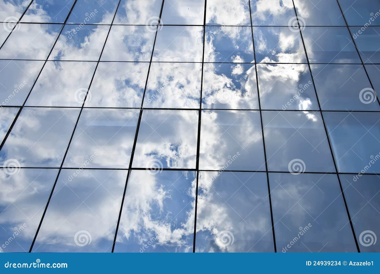 Architettura di vetro moderna fotografia stock immagine di