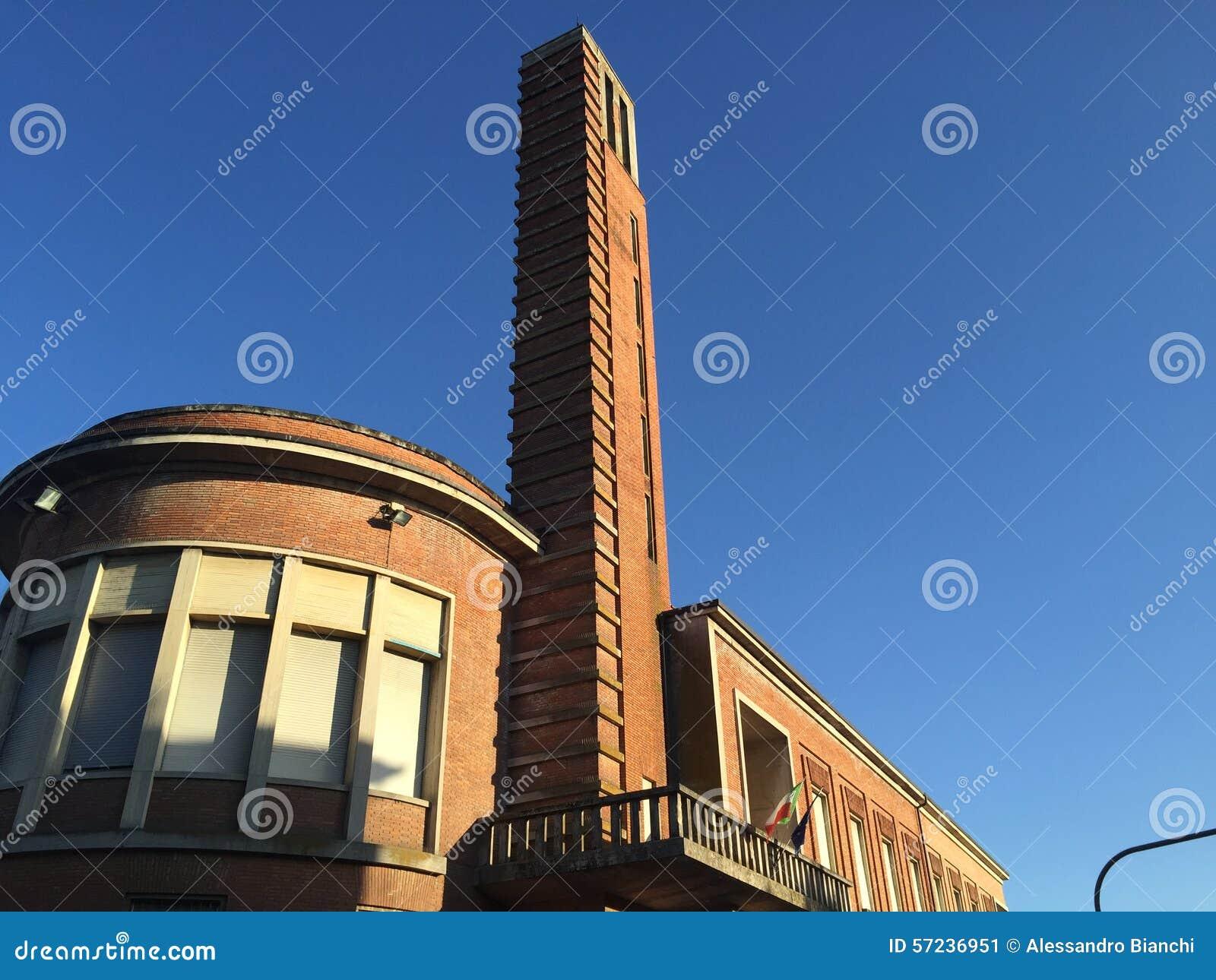 Architettura fascista italiana immagine stock immagine for Architettura italiana