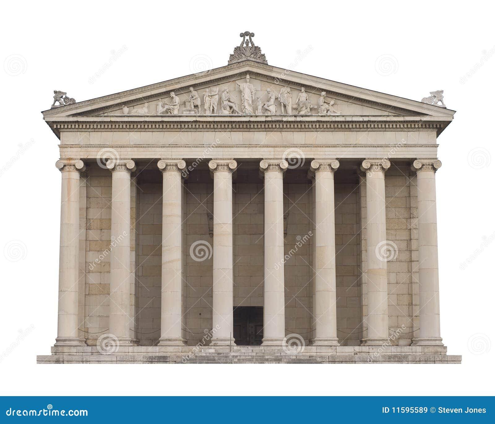 Architettura greca classica immagini stock libere da for Architettura classica