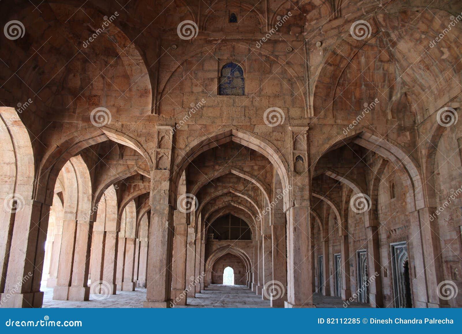 Architettura islamica, masjid di jami, mandu, Madhya Pradesh, India