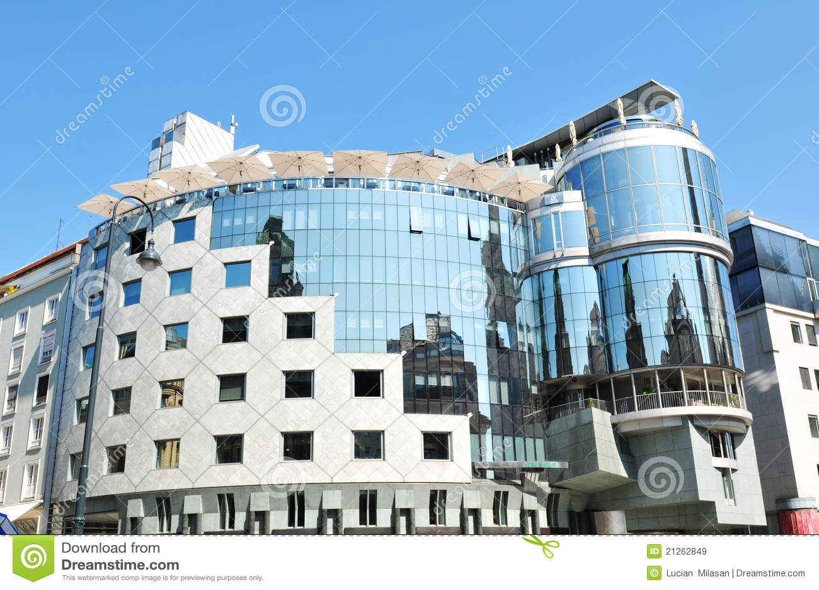 Architettura moderna immagine stock immagine di for L architettura moderna