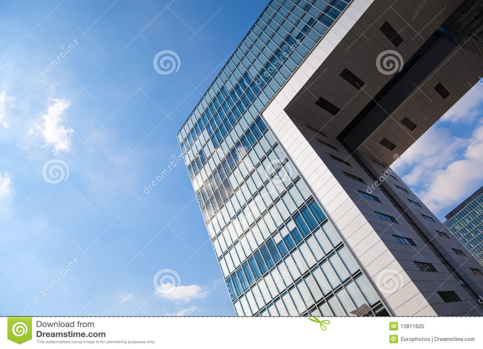 Architettura moderna a colonia fotografia stock libera da for Programmi 3d architettura