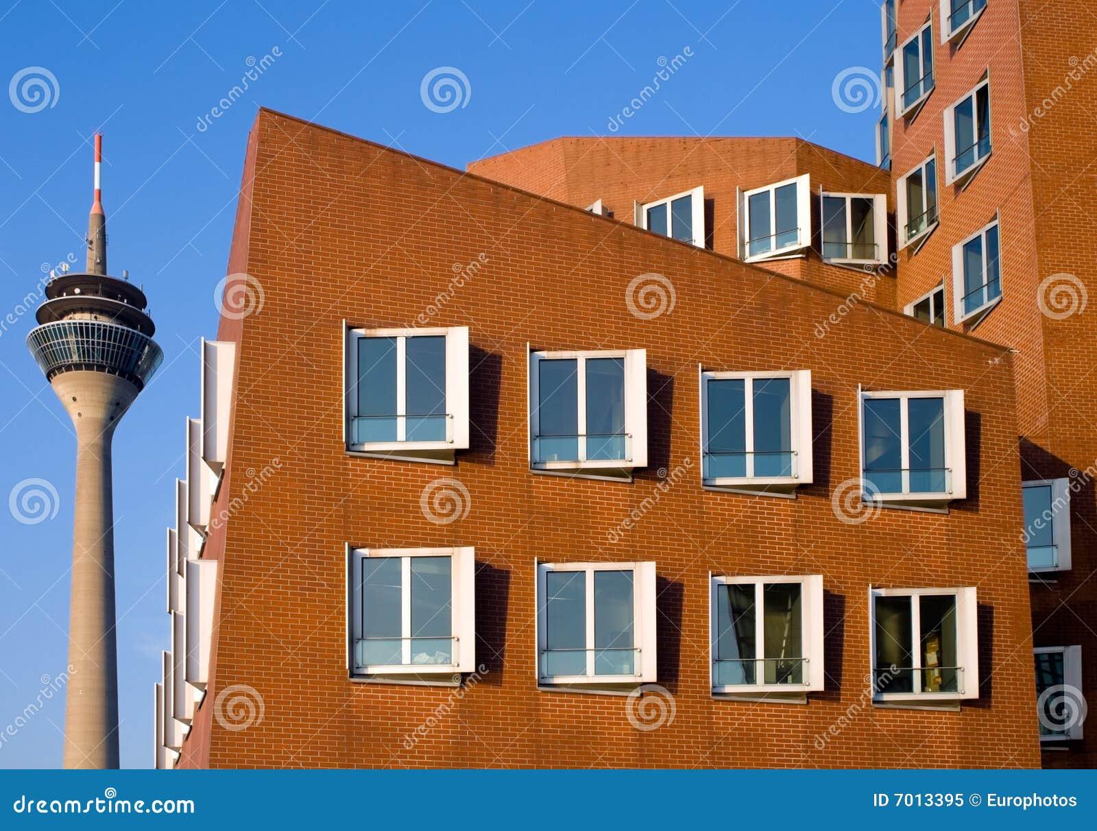 Architettura moderna a dusseldorf immagine editoriale - Architettura casa moderna ...