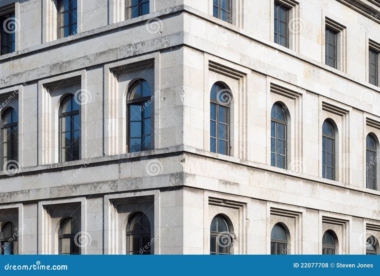 architettura nazista fotografie stock libere da diritti