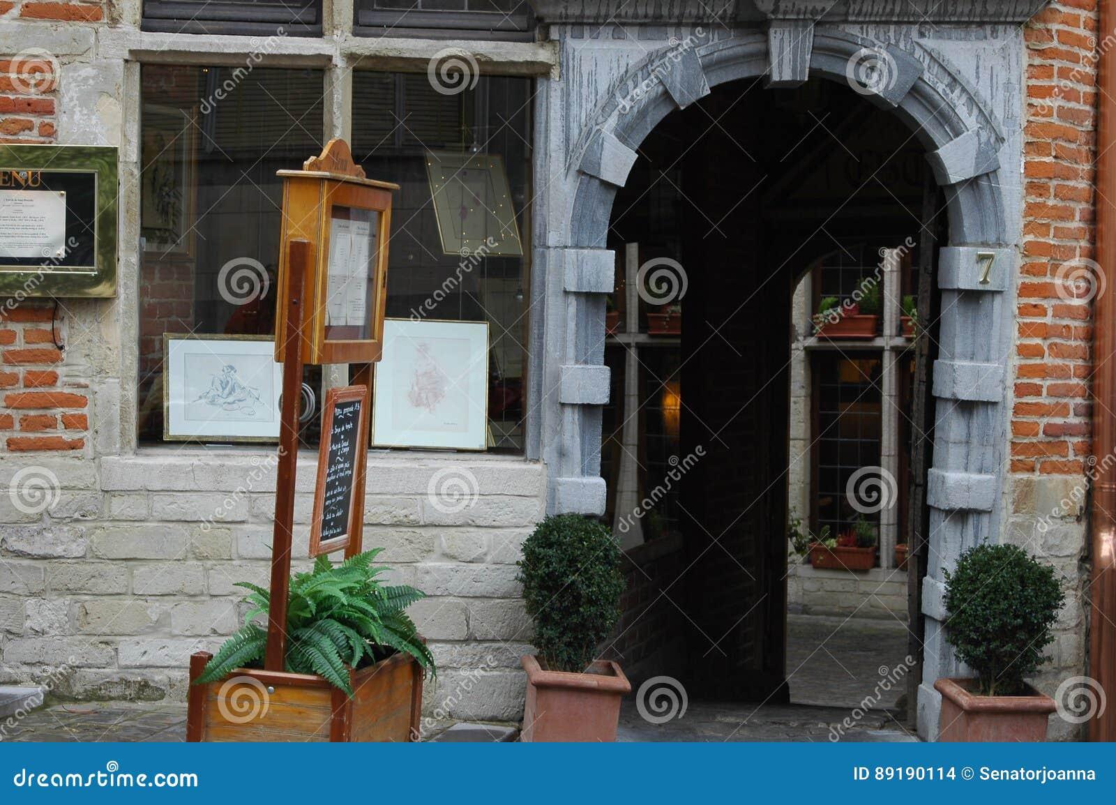 Architettura nella parte storica di Bruxelles, Belgio