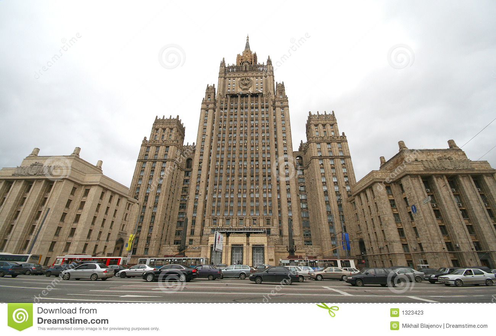 architettura sovietica degli anni 39 50 1 immagine stock