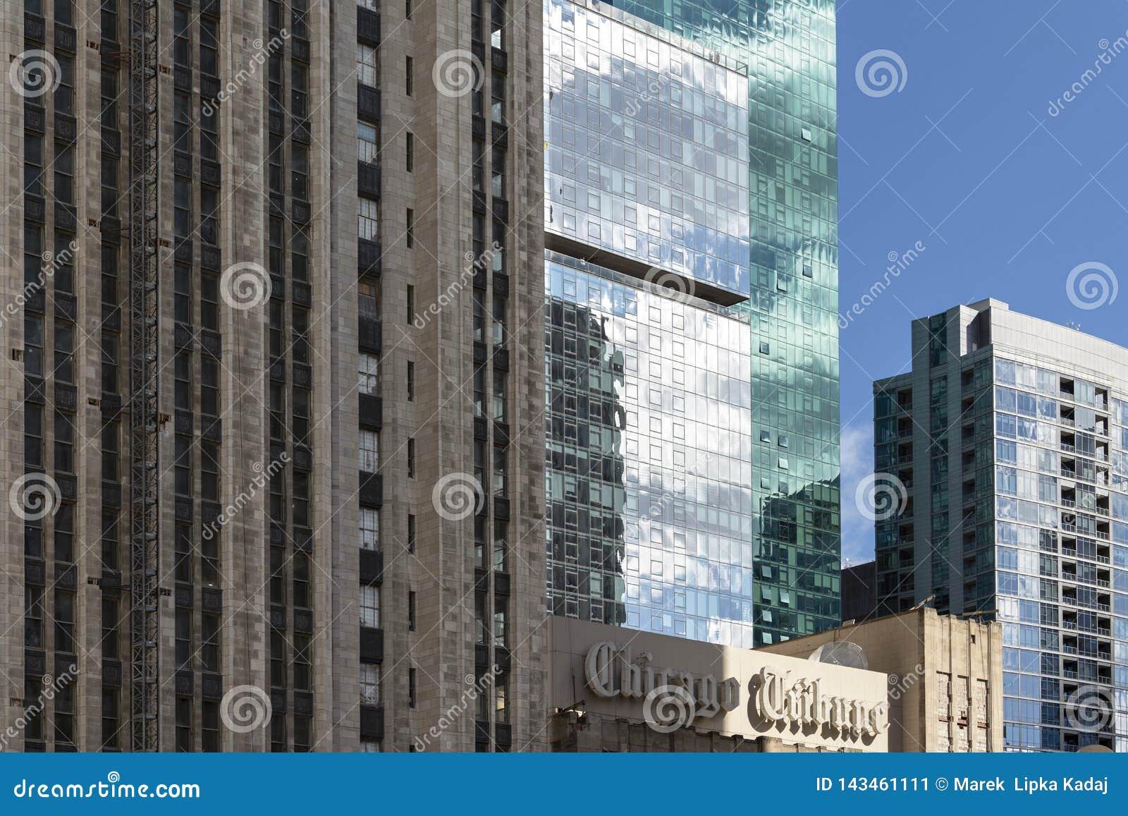 Architettura storica e moderna di Chicago