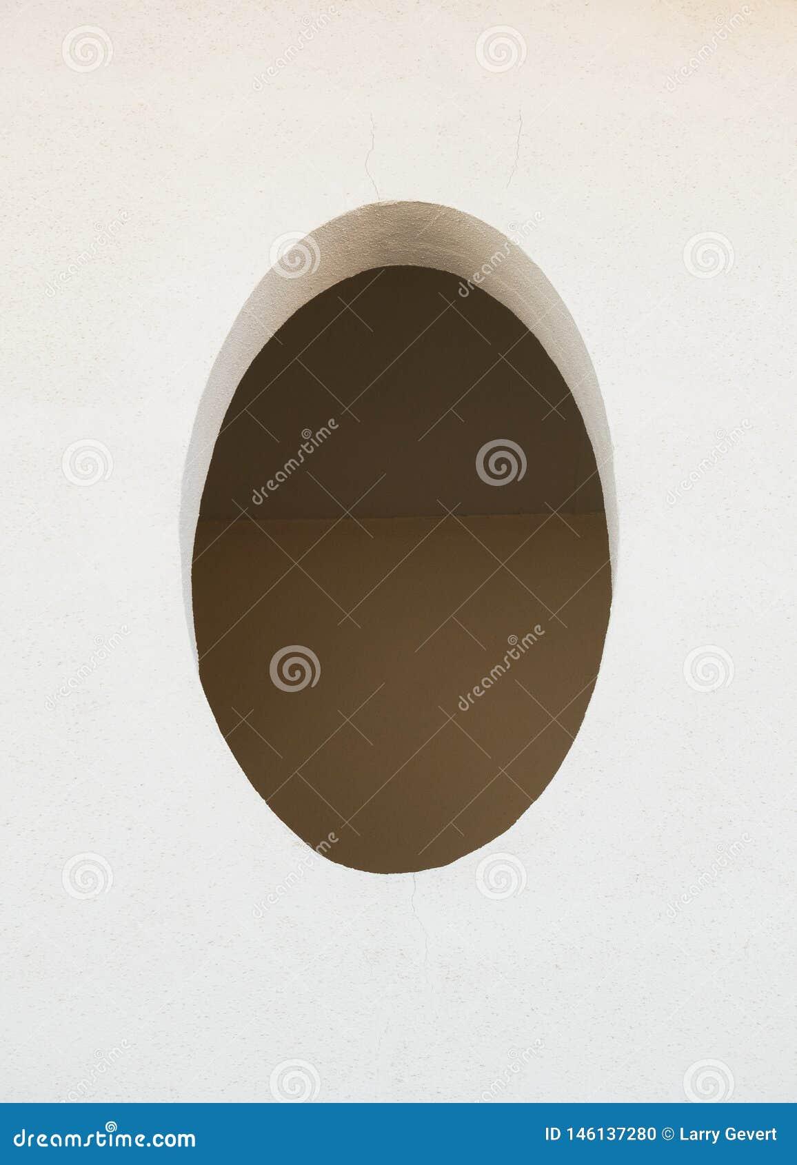 Architettura sudoccidentale, un ovale semplice