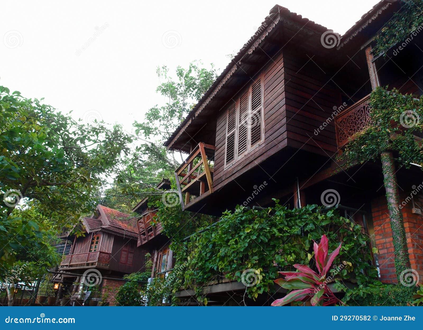 Architettura Tailandese & Patio Delle Costruzioni Di Case ...