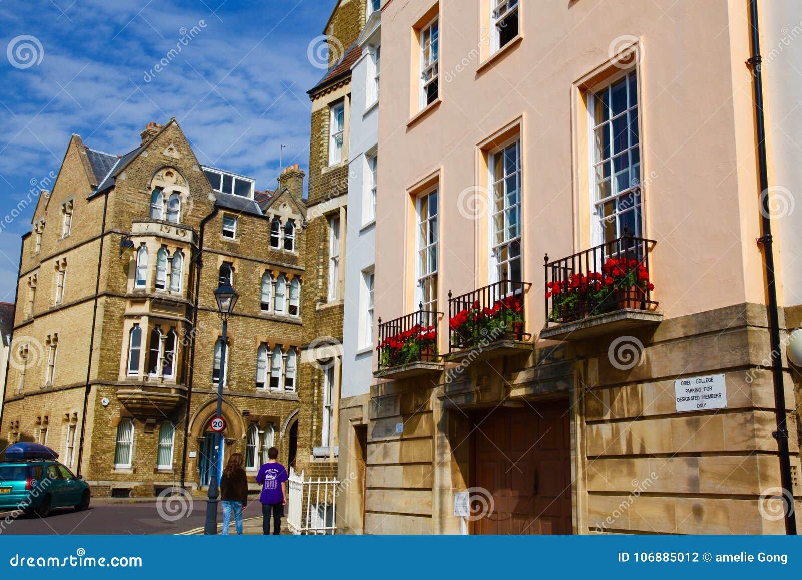 Architettura tipica dell Inghilterra a Oxford
