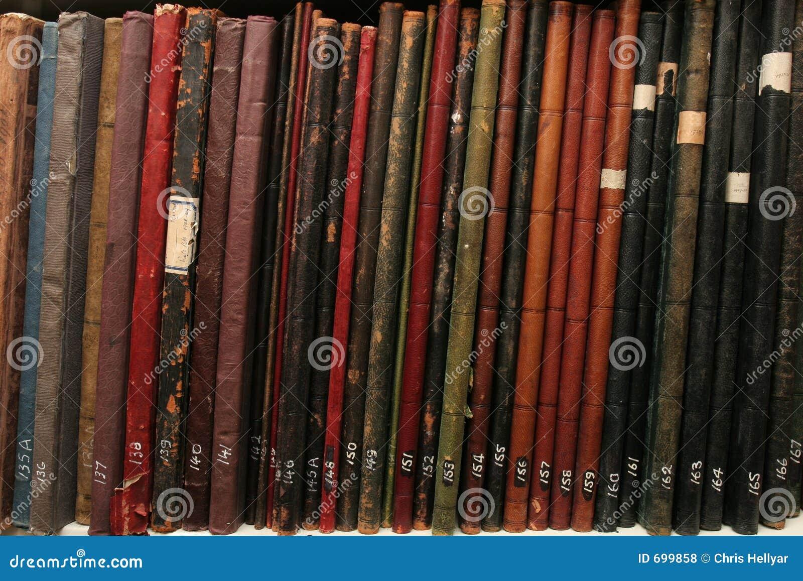 Archives attachées de compagnie de cuir