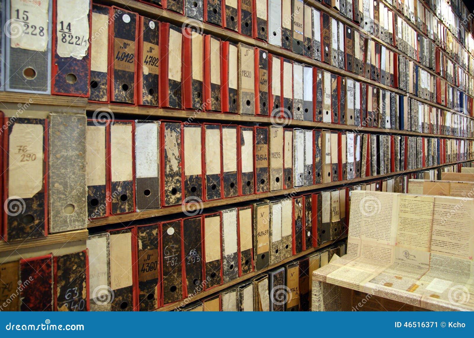 Archives de bibliothèque