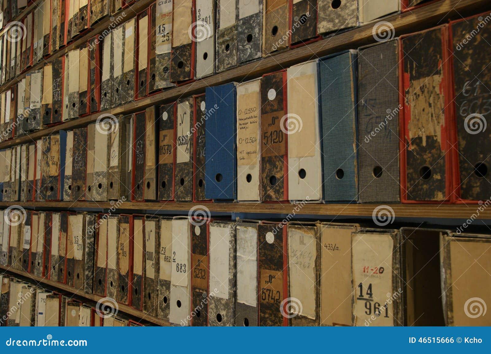 Archivos de la biblioteca