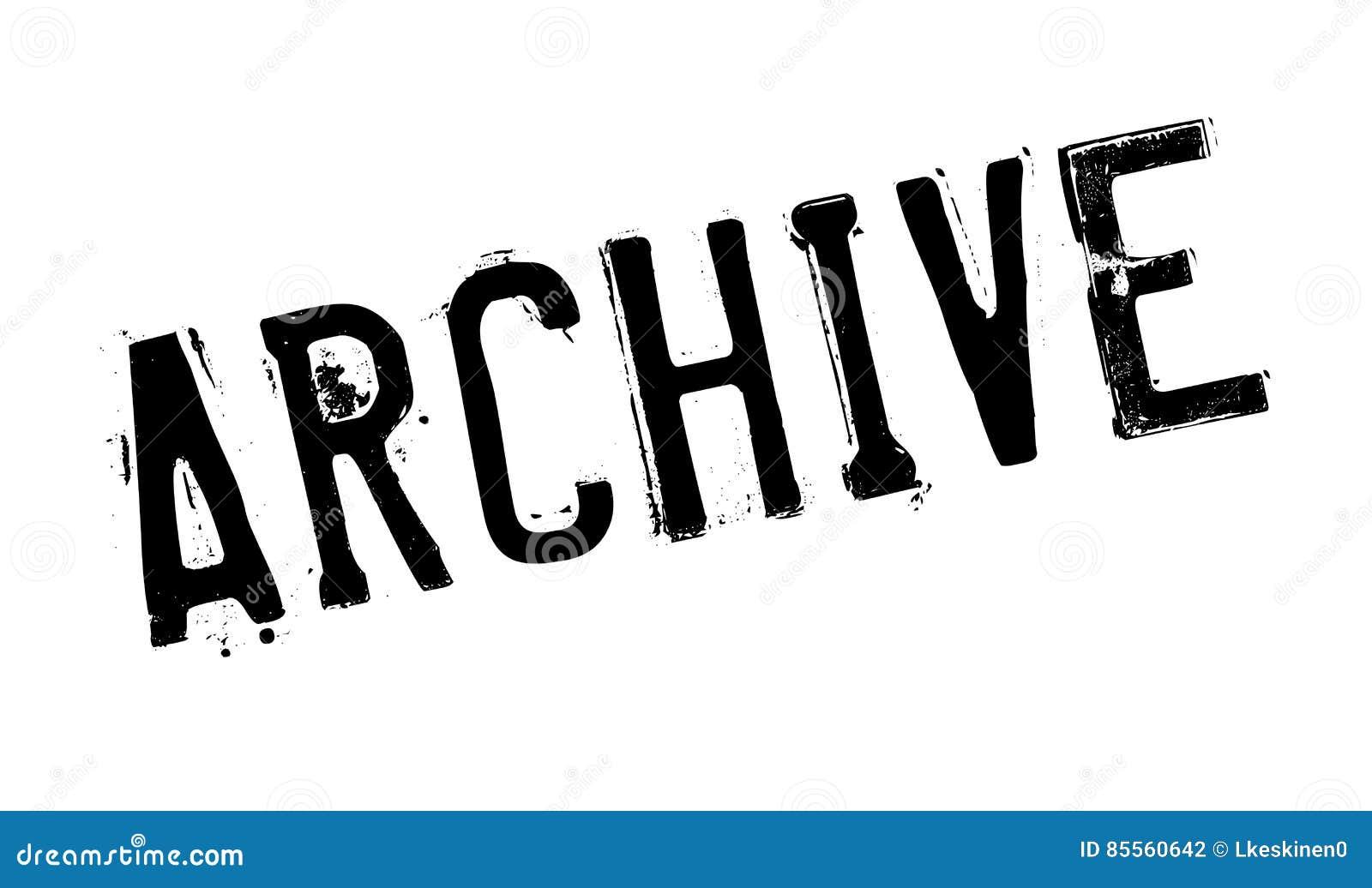 Archivstempel