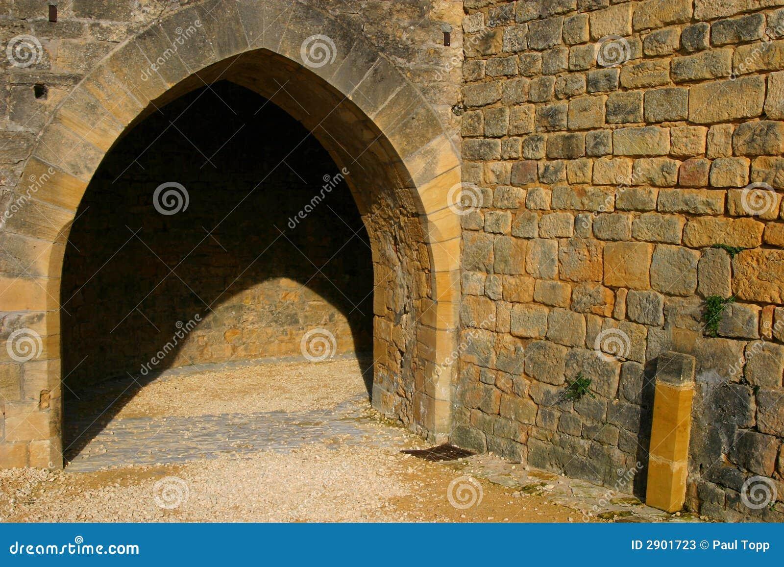 Archway gótico do estilo