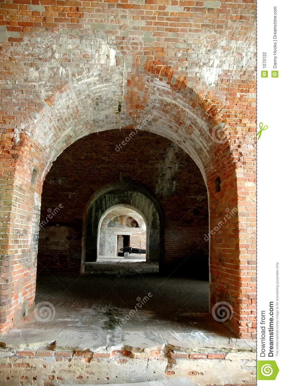Archways at Fort Morgan