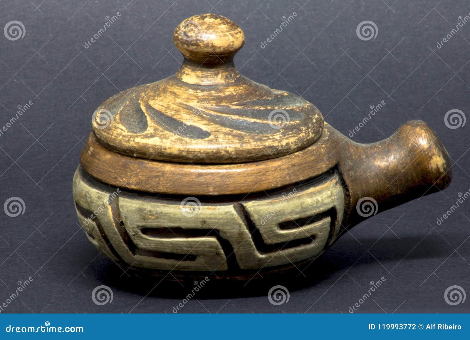 Arcilla de los artesanos de Marajoara
