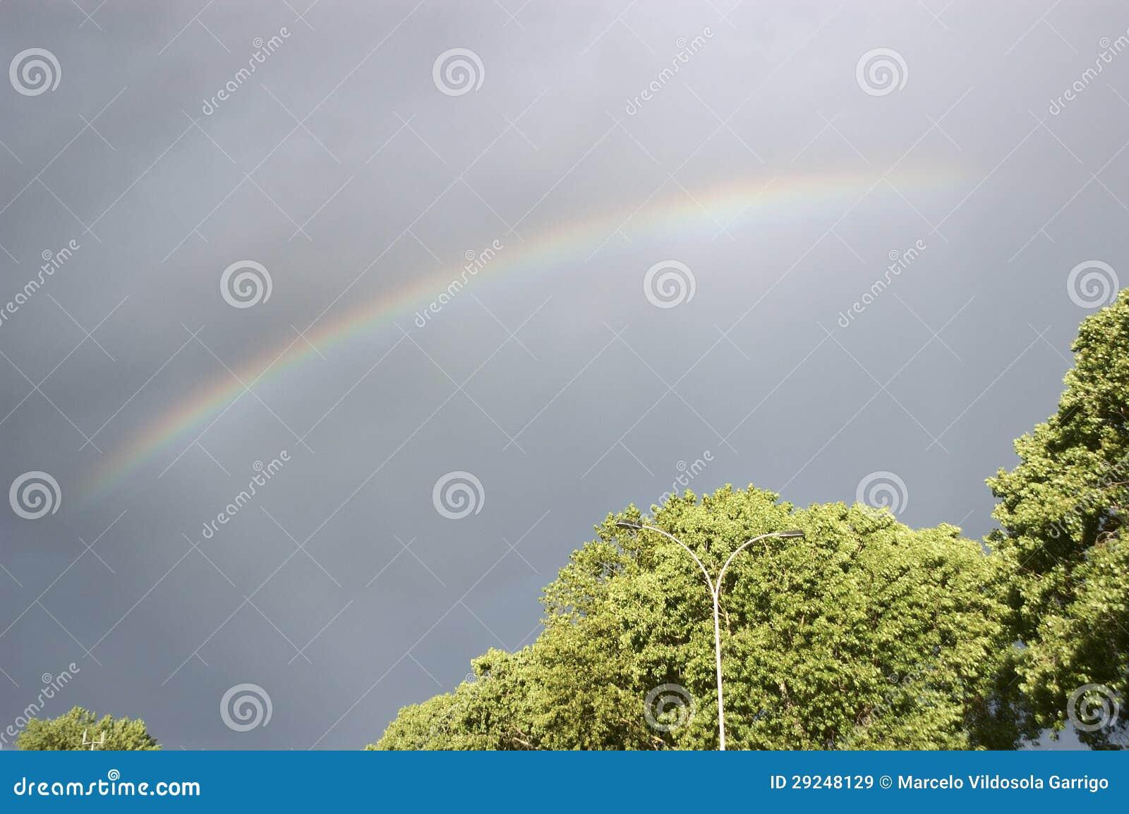 Download Arco-íris imagem de stock. Imagem de íris, arco, multicolored - 29248129