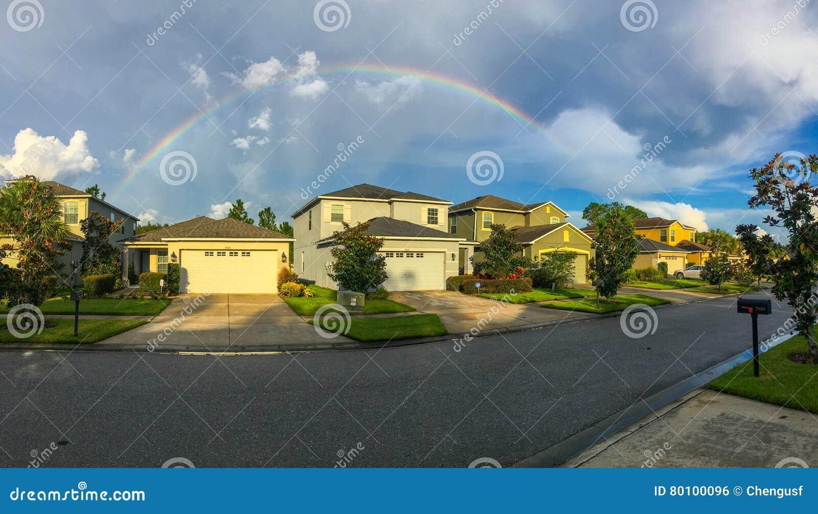 Arco-íris cheio