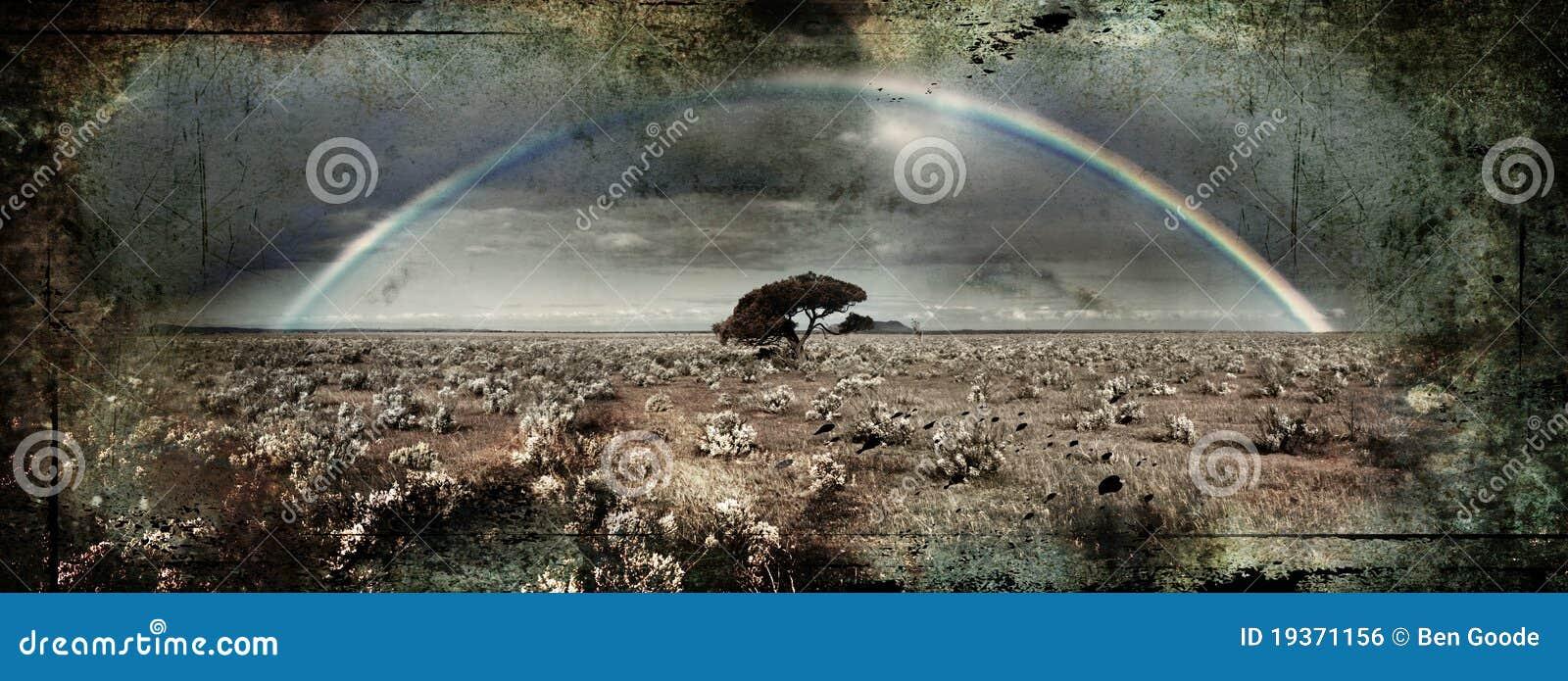 Arco-íris de Grunge