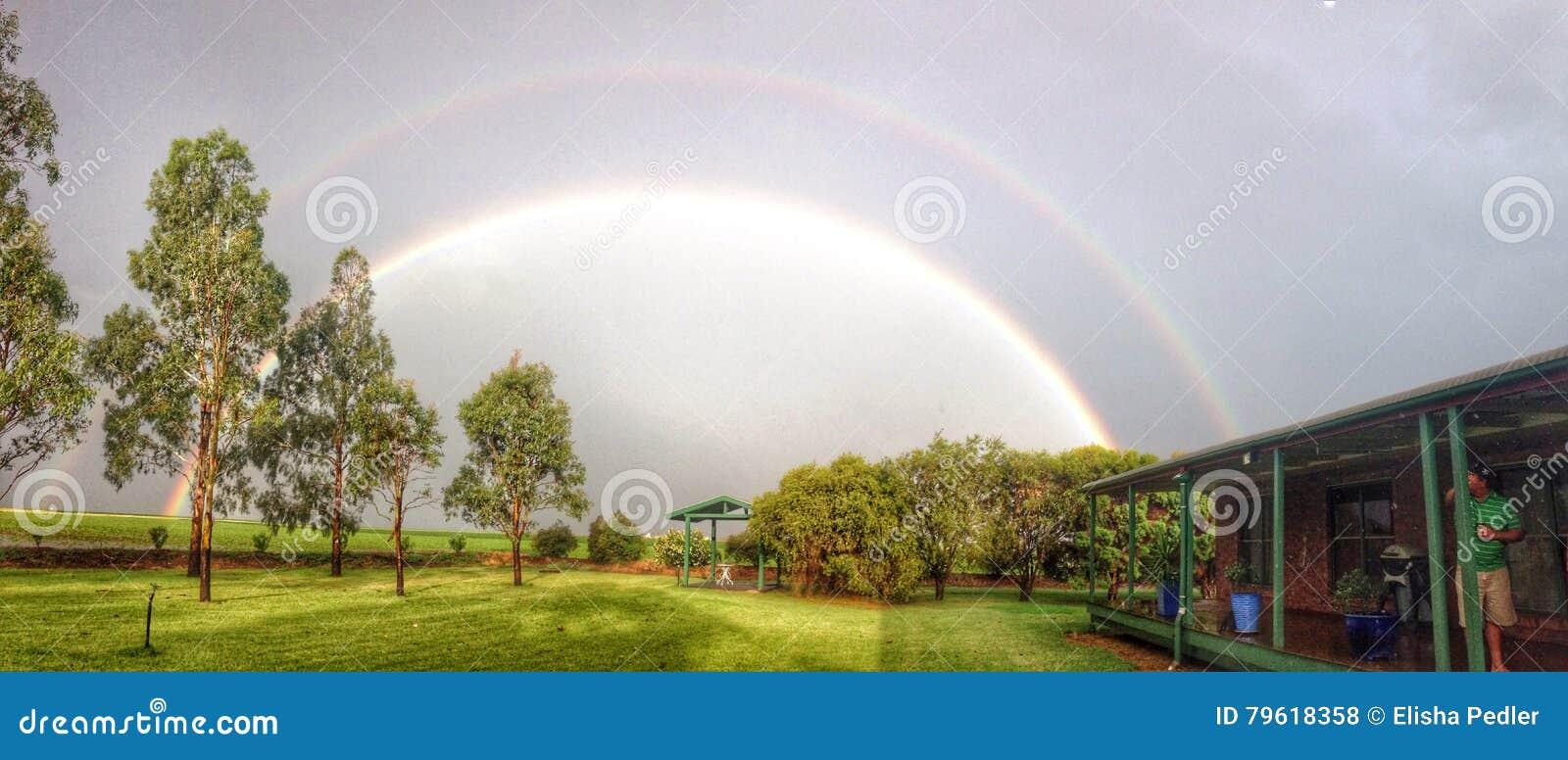 Arco-íris em Jondaryan Austrália