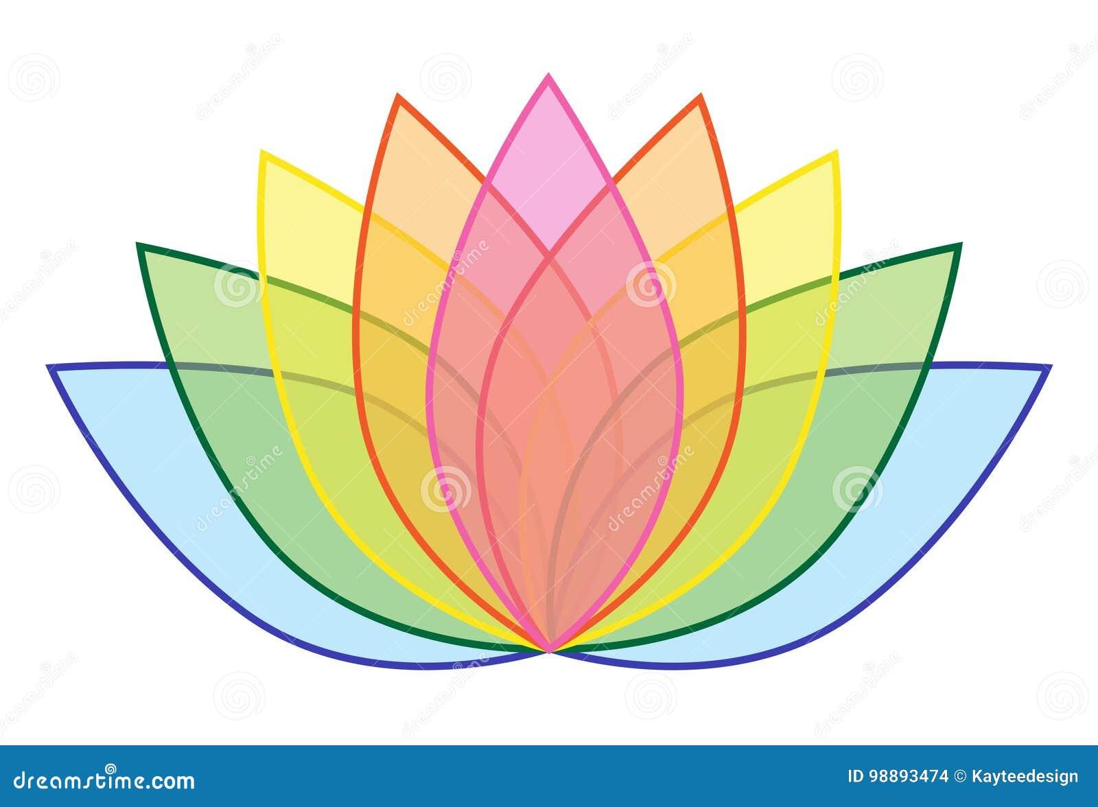 Arco ris lotus flower icon logo na ilustrao branca 1 do fundo download arco ris lotus flower icon logo na ilustrao branca 1 do fundo ilustrao do ccuart Choice Image