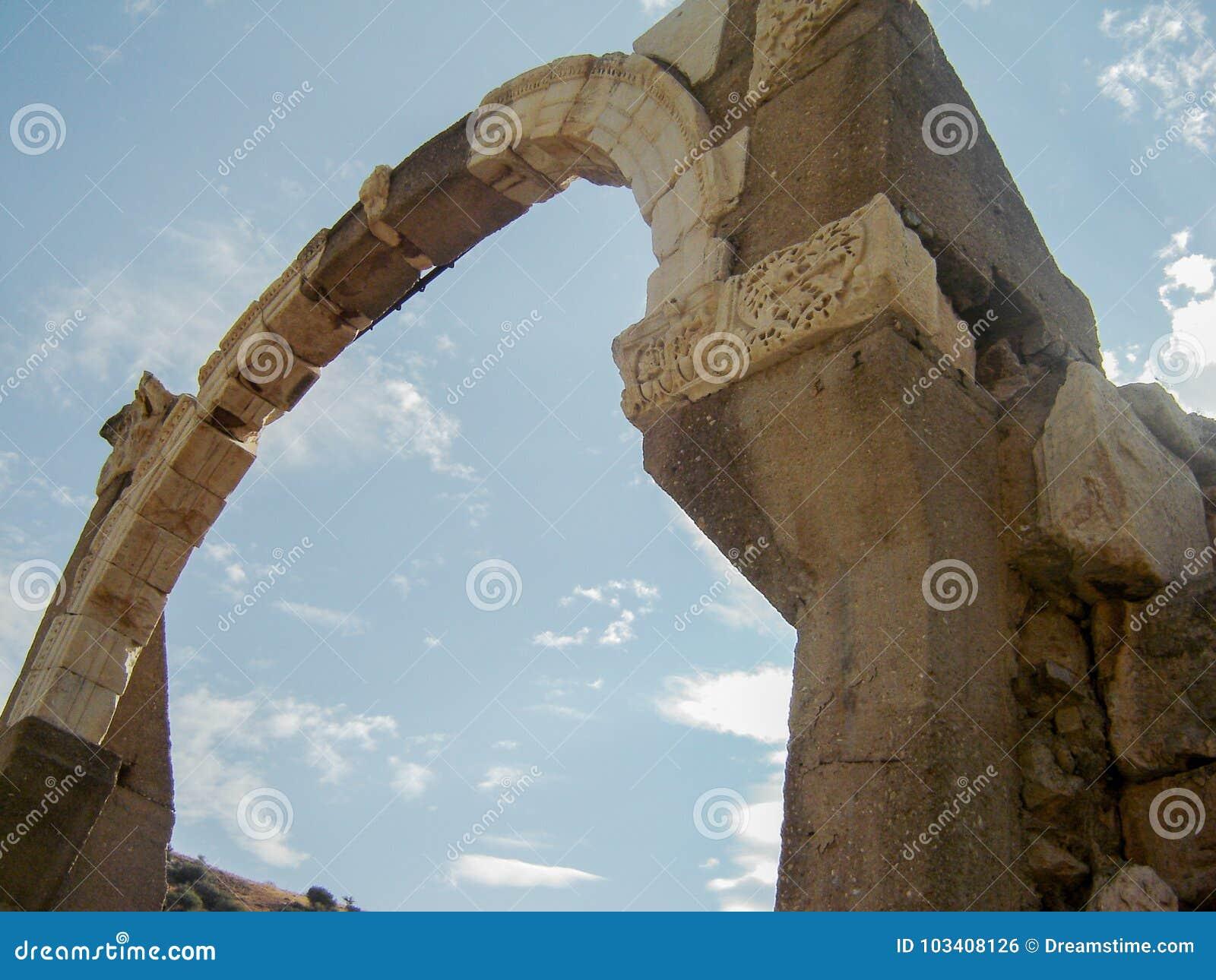Arco antiguo en ephesus