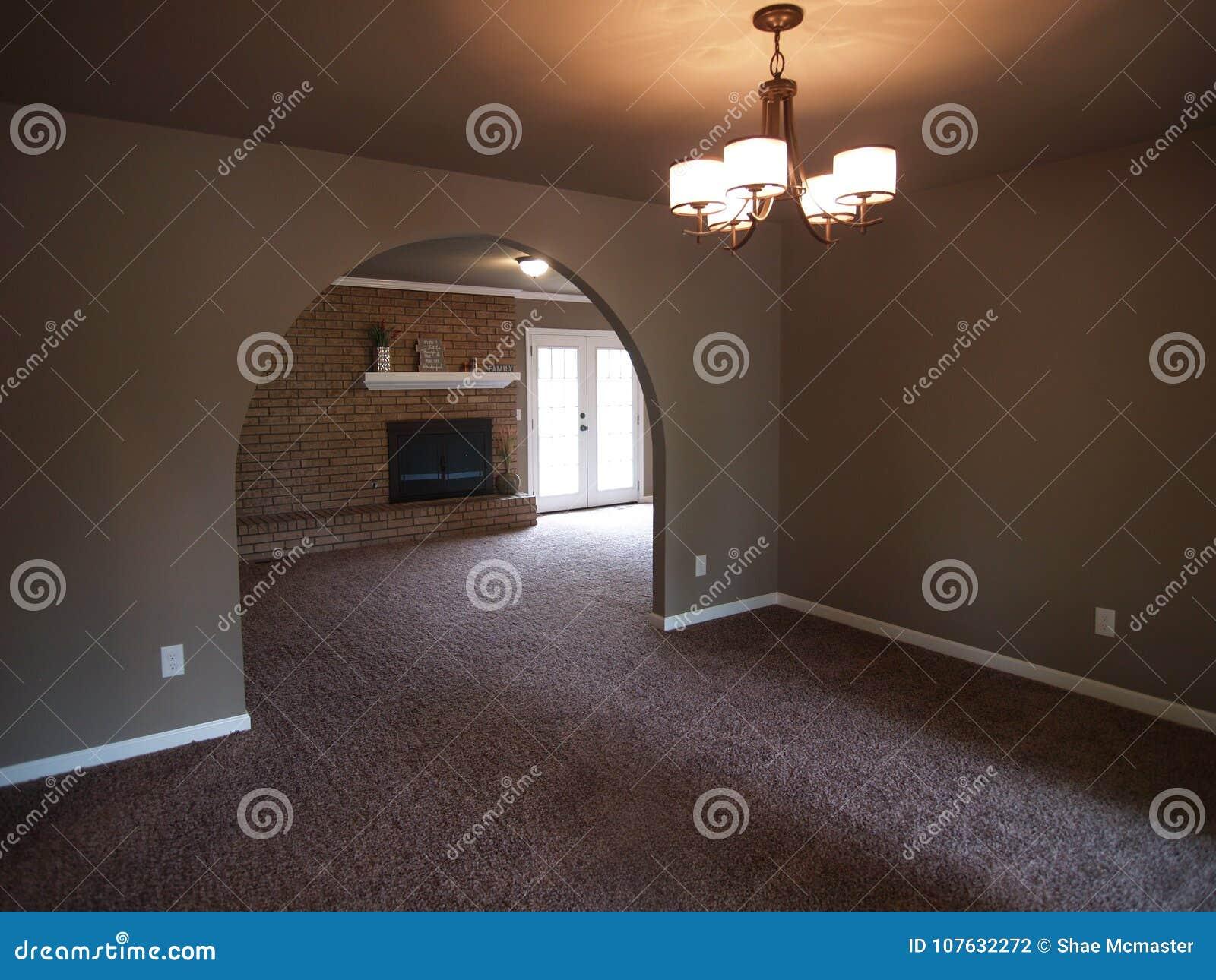Archi In Casa Moderna arco classico nella casa moderna fotografia stock - immagine