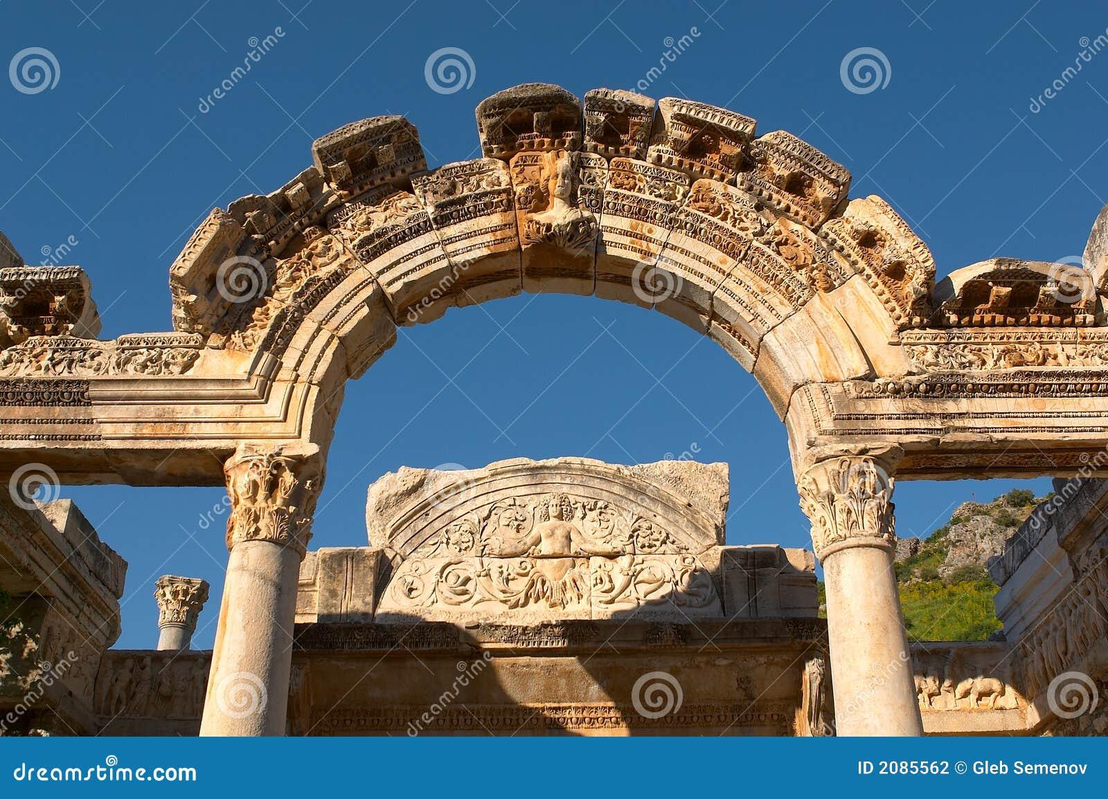 Arco de Ancien en Ephesus