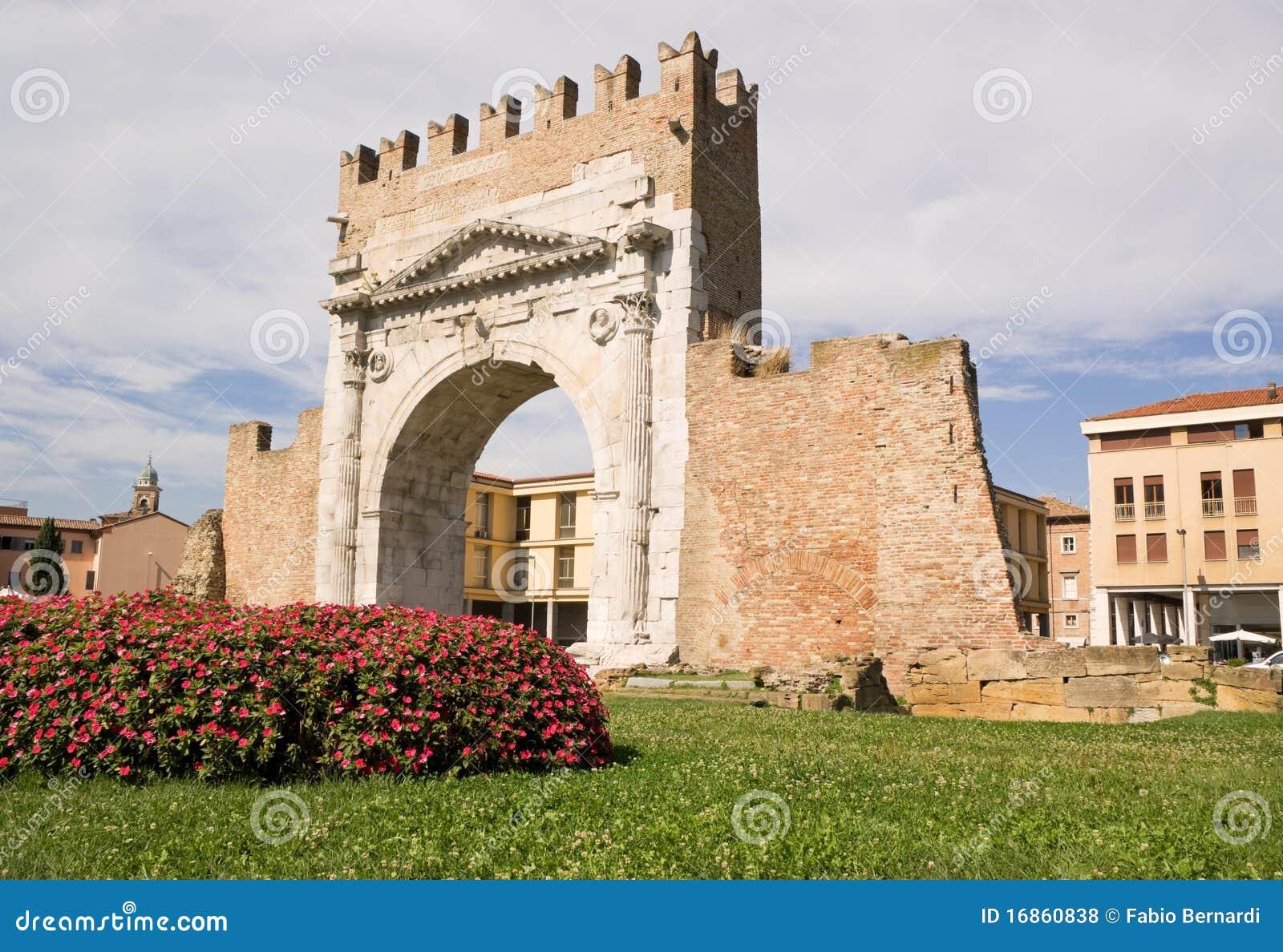 Arco de Augustus em Rimini