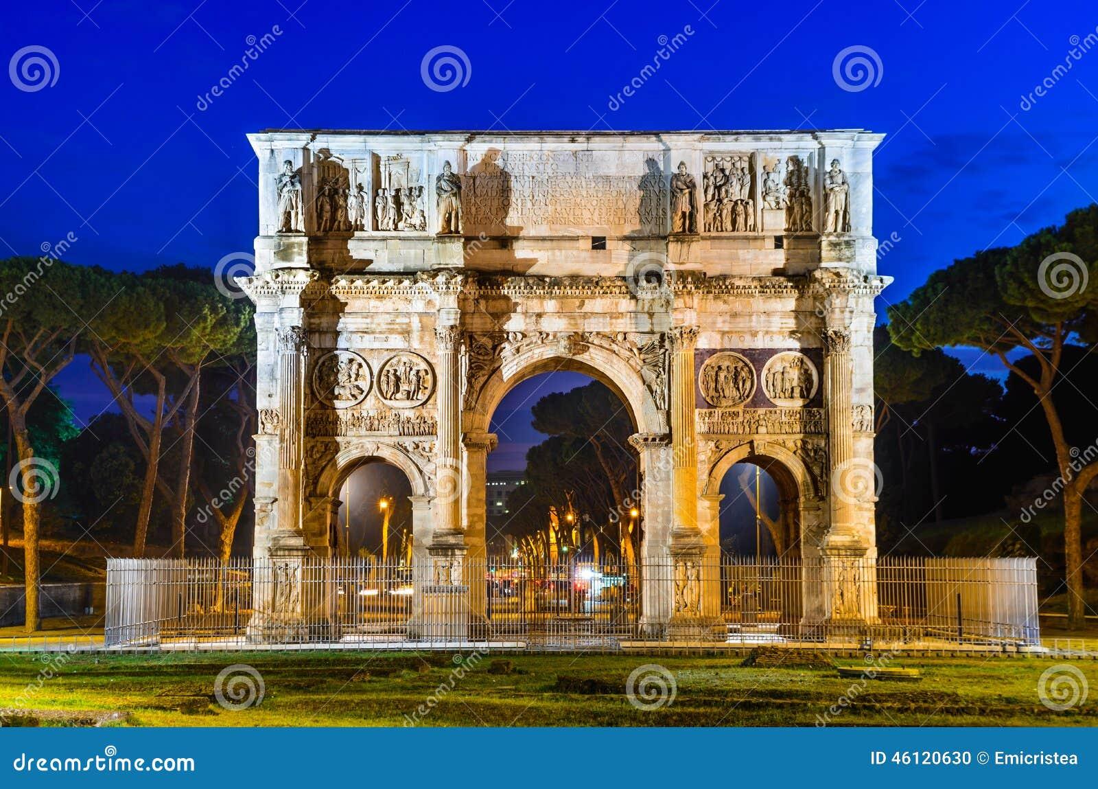 Arco de Constantim, Roma, Itália